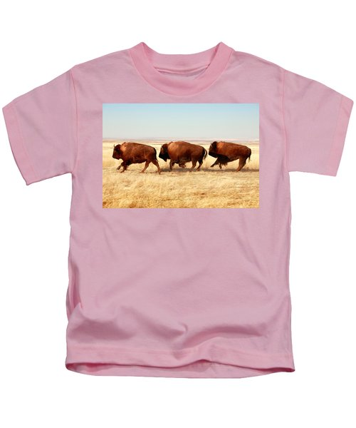 Tatanka Kids T-Shirt by Todd Klassy