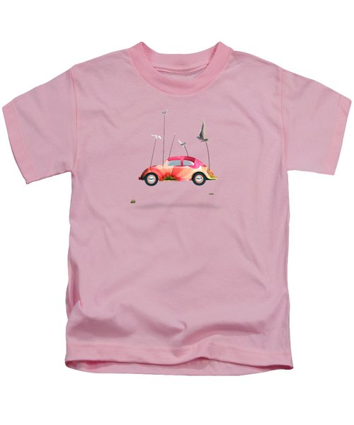 Suriale Cars  Kids T-Shirt by Mark Ashkenazi