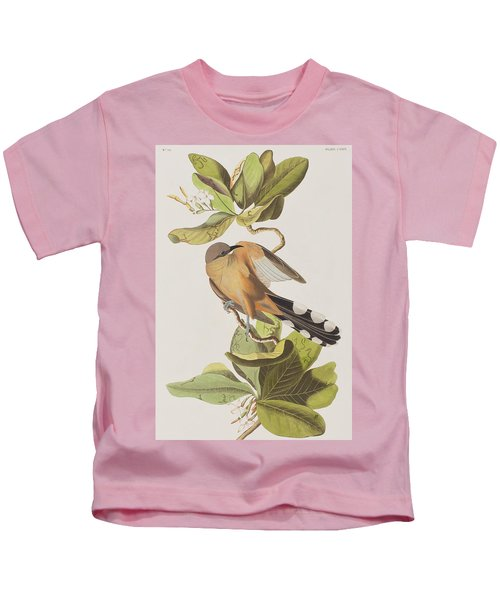 Mangrove Cuckoo Kids T-Shirt by John James Audubon