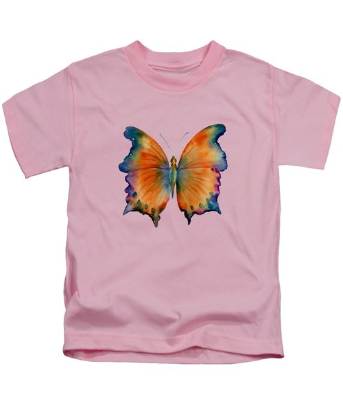 1 Wizard Butterfly Kids T-Shirt by Amy Kirkpatrick