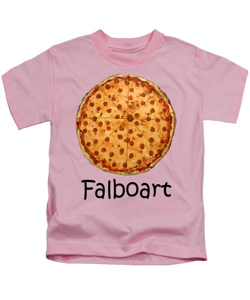 The Big Ass New York Pizza Kids T-Shirt by Anthony Falbo