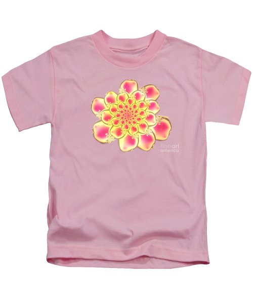 Lotus Kids T-Shirt by Anastasiya Malakhova