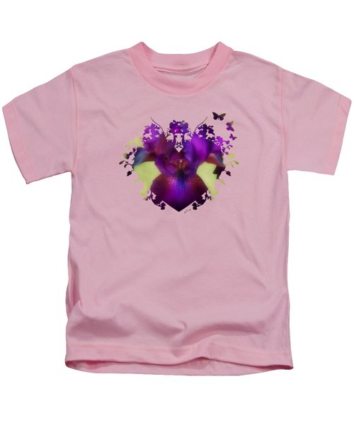 Deep Purple Kids T-Shirt by Anita Faye