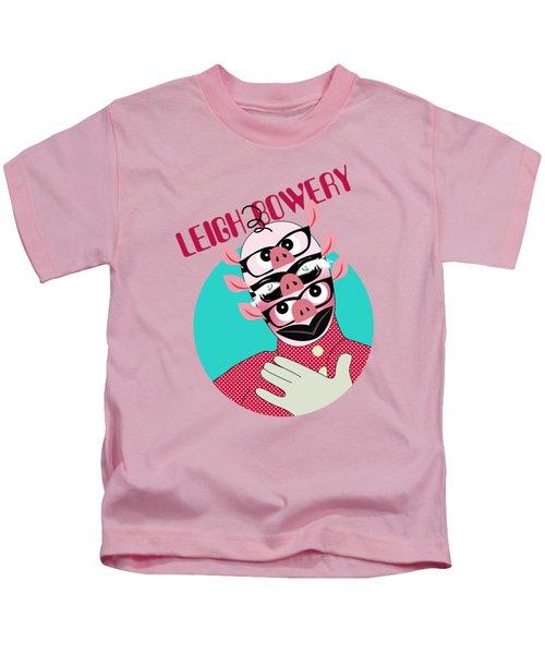 Leigh Bowery Kids T-Shirt by Mark Ashkenazi