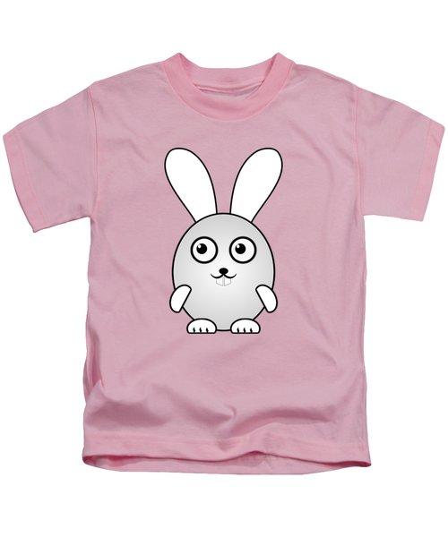 Bunny - Animals - Art For Kids Kids T-Shirt by Anastasiya Malakhova