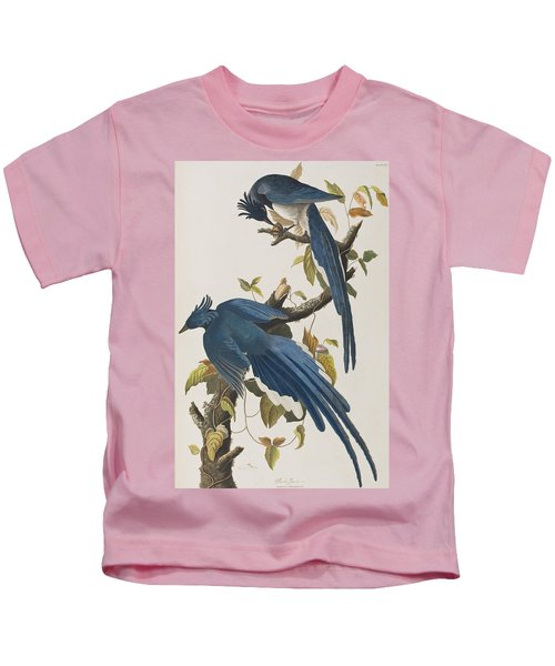 Columbia Jay Kids T-Shirt by John James Audubon