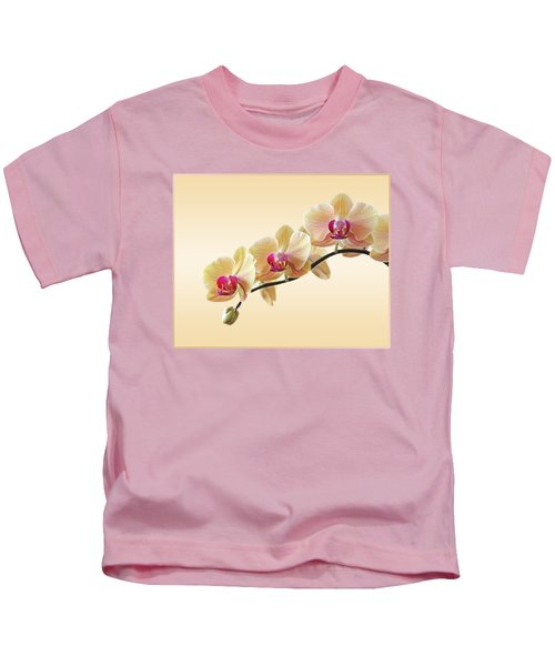 Cream Delight Kids T-Shirt by Gill Billington