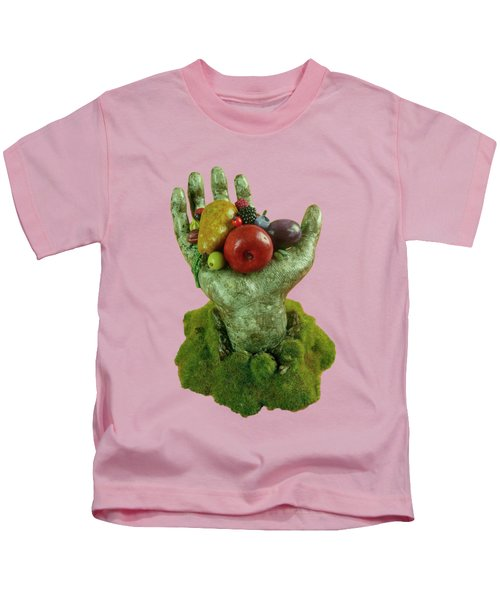 Divine Nutrition Kids T-Shirt by Przemyslaw Stanuch