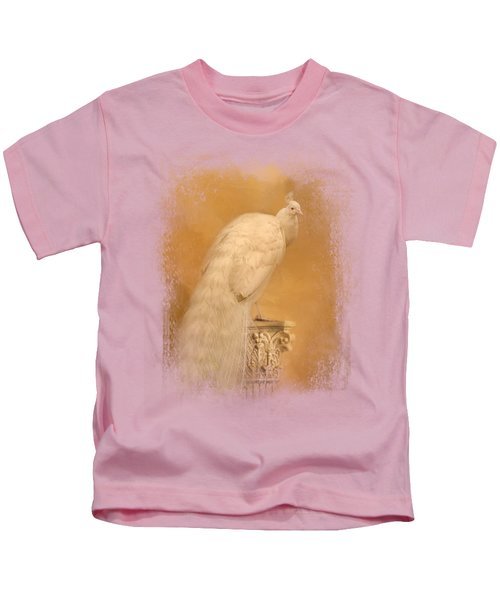 Elegance In Gold Kids T-Shirt by Jai Johnson