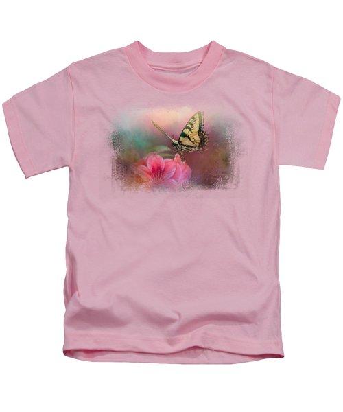 Garden Friend 2 Kids T-Shirt by Jai Johnson