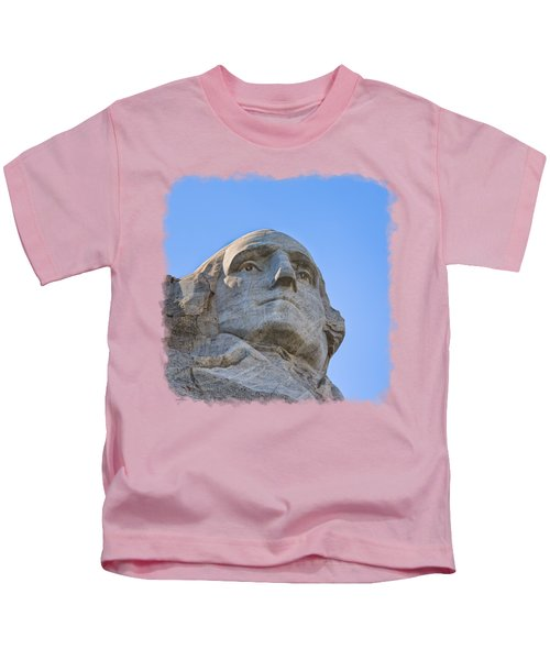 George Washington 3 Kids T-Shirt by John M Bailey
