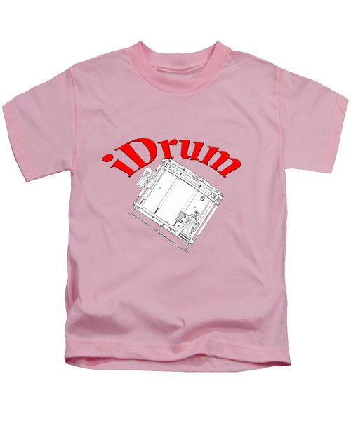 iDrum Kids T-Shirt by M K  Miller