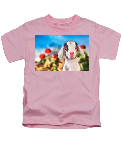 I'm In The Rose Garden Kids T-Shirt by TC Morgan