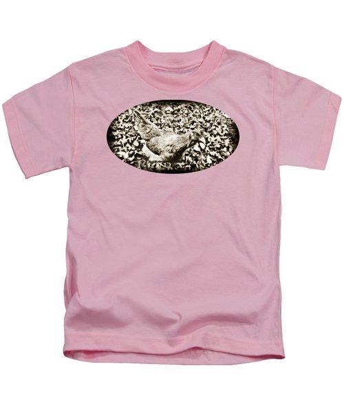 Intensive Poultry Kids T-Shirt by Anita Faye