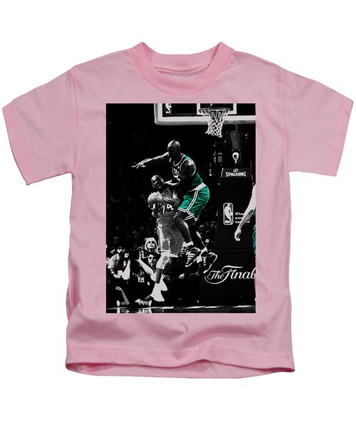 Kevin Garnett Not In Here Kids T-Shirt by Brian Reaves