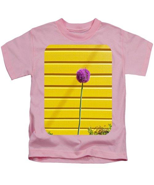 Lollipop Head Kids T-Shirt by Ethna Gillespie