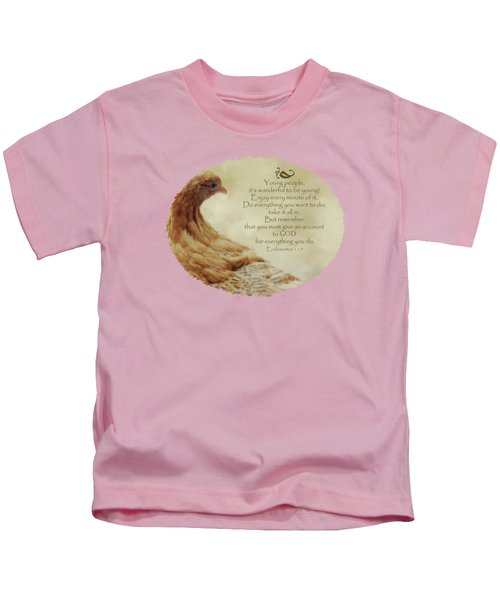 Lovely Lace - Verse Kids T-Shirt by Anita Faye