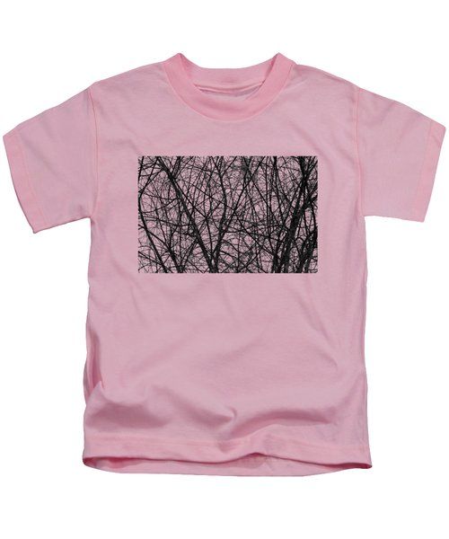 Natural Trees Map Kids T-Shirt by Konstantin Sevostyanov