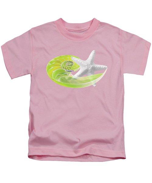 Ocean Fresh Kids T-Shirt by Gill Billington