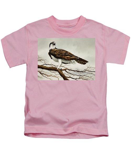 Osprey Sea Hawk Kids T-Shirt by James Williamson