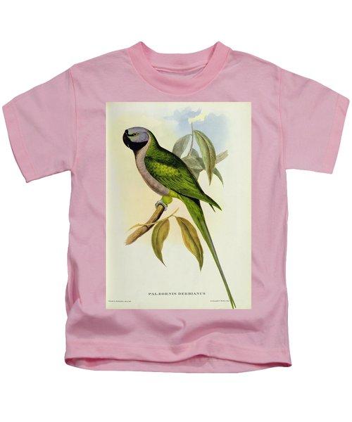 Parakeet Kids T-Shirt by John Gould
