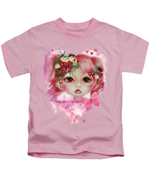 Rosie Valentine - Munchkinz Collection  Kids T-Shirt by Sheena Pike