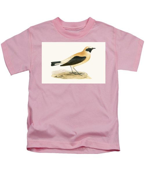 Russet Wheatear Kids T-Shirt by English School
