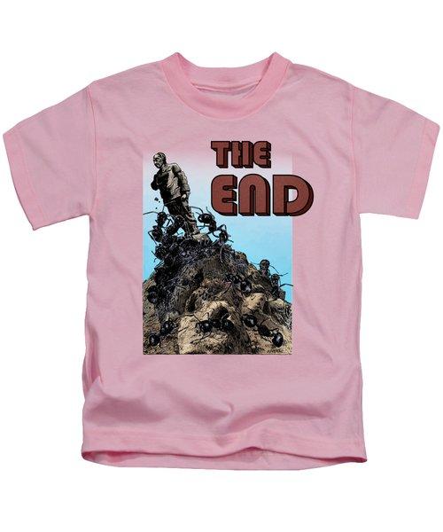 The End Kids T-Shirt by Joseph Juvenal