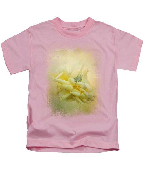 The Last Yellow Rose Kids T-Shirt by Jai Johnson