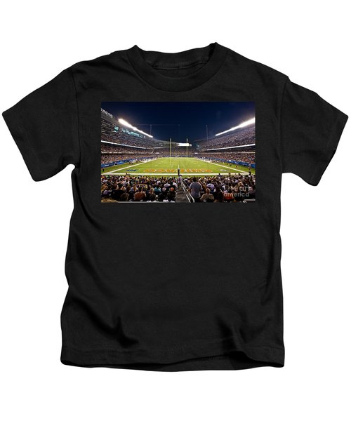0588 Soldier Field Chicago Kids T-Shirt by Steve Sturgill