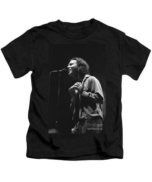 Pearl Jam Kids T-Shirt by Concert Photos