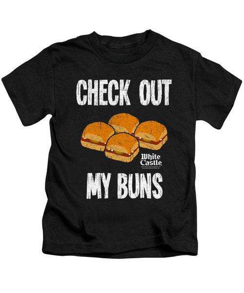 White Castle - My Buns Kids T-Shirt by Brand A