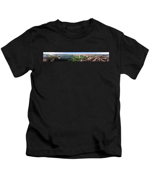 Aerial Washington Dc Usa Kids T-Shirt by Panoramic Images