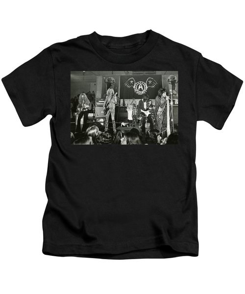 Aerosmith - Aerosmith Tour 1973 Kids T-Shirt by Epic Rights