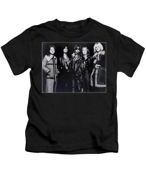 Aerosmith - America's Greatest Rock N Roll Band Kids T-Shirt by Epic Rights