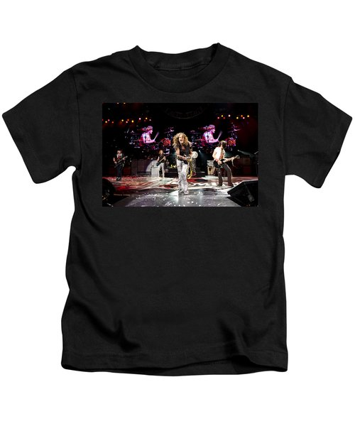Aerosmith - Austin Texas 2012 Kids T-Shirt by Epic Rights