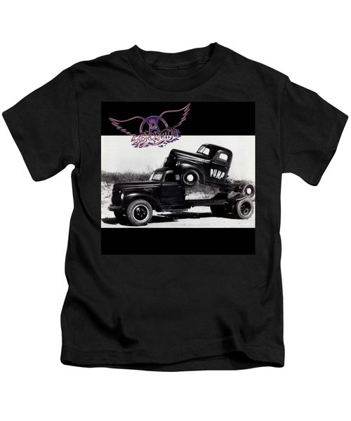 Aerosmith - Pump 1989 Kids T-Shirt by Epic Rights
