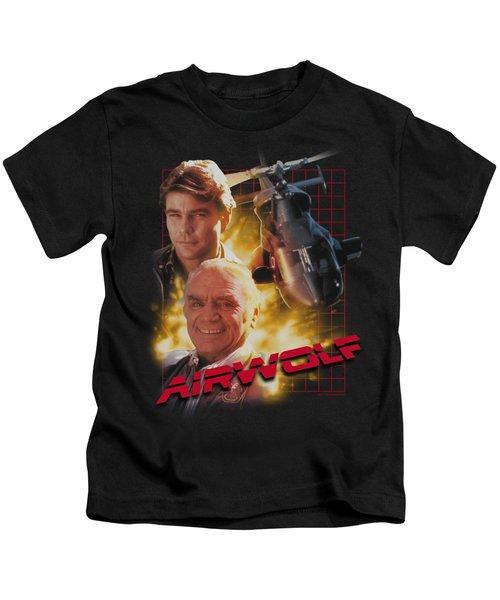 Airwolf - Airwolf Kids T-Shirt by Brand A