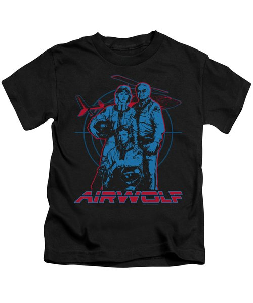 Airwolf - Graphic Kids T-Shirt by Brand A