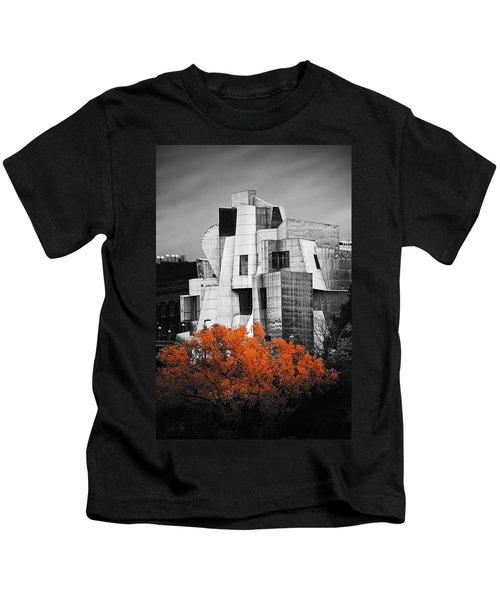 autumn at the Weisman Kids T-Shirt by Matthew Blum