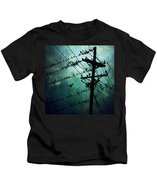 Bird City Kids T-Shirt by Trish Mistric