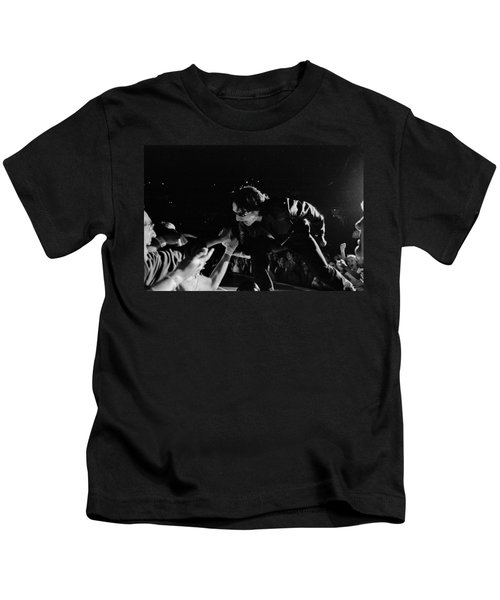 Bono 051 Kids T-Shirt by Timothy Bischoff