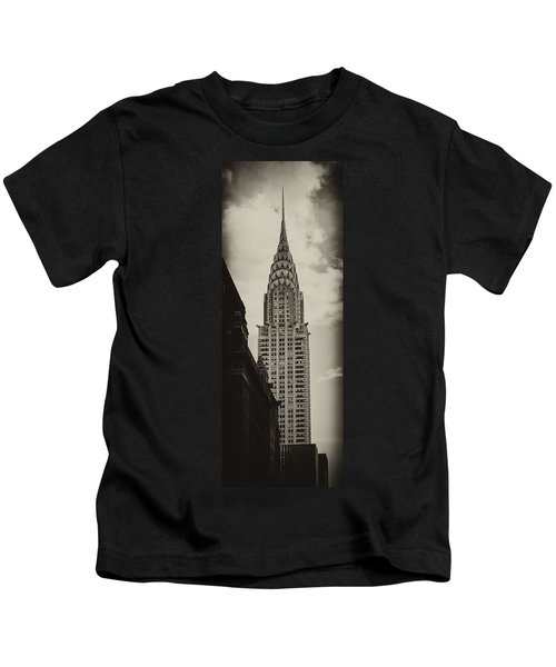 Chrysler Kids T-Shirt by Andrew Paranavitana