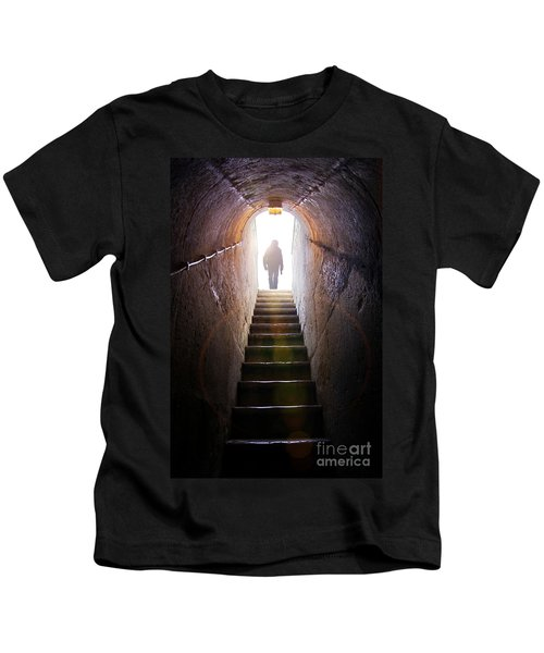 Dungeon Exit Kids T-Shirt by Carlos Caetano