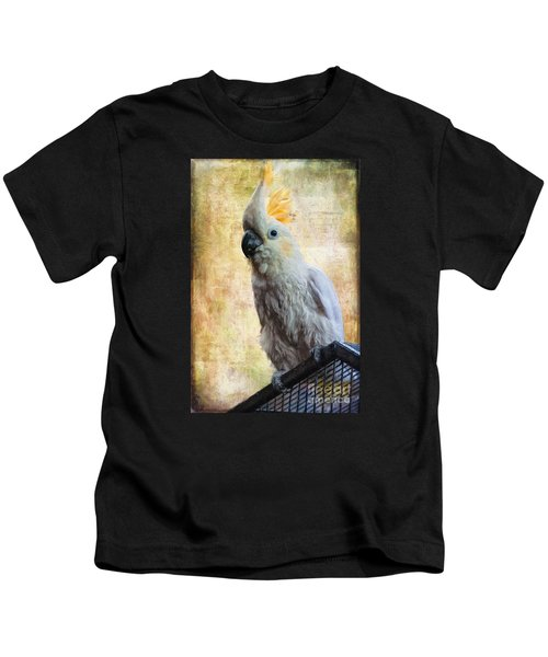 Elegant Lady Kids T-Shirt by Lois Bryan