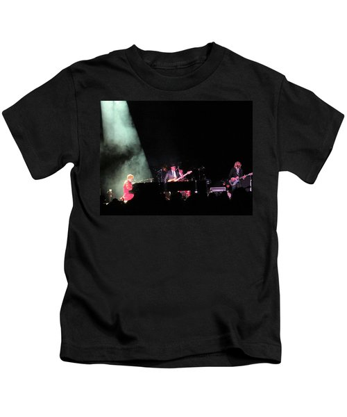 Elton And Band Kids T-Shirt by Aaron Martens