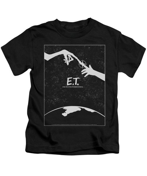 Et - Simple Poster Kids T-Shirt by Brand A