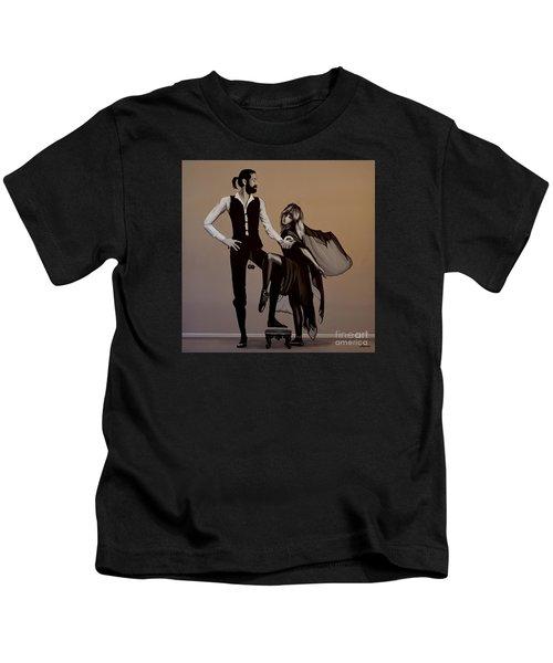 Fleetwood Mac Rumours Kids T-Shirt by Paul Meijering