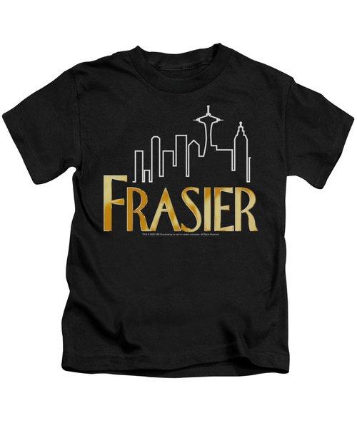 Frasier - Frasier Logo Kids T-Shirt by Brand A