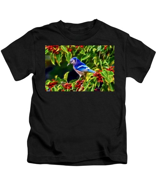 Hiding In The Berries Kids T-Shirt by Stephen Younts